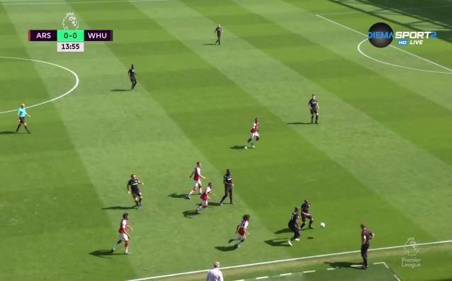 Арсенал и Уест Хем се оттеглиха на почивка при резултат