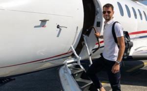 Гришо отлетя за Барселона с частния самолет