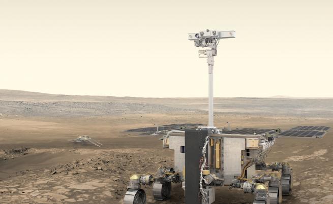 Прототипът на европейския марсоход е готов за тестове