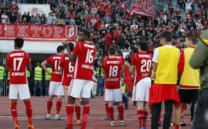 ЦСКА откри последната тренировка за феновете