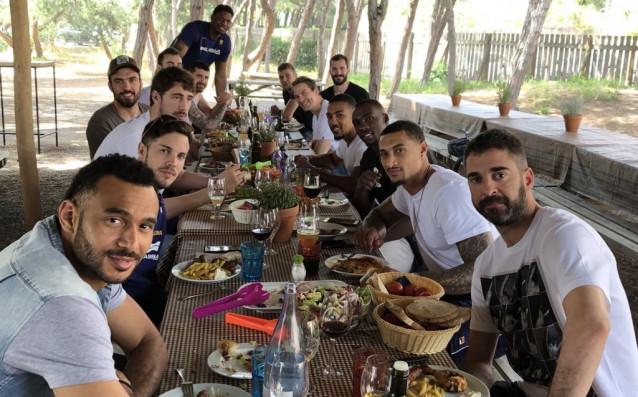БК Барселона<strong> източник: twitter.com/FCBbasket</strong>