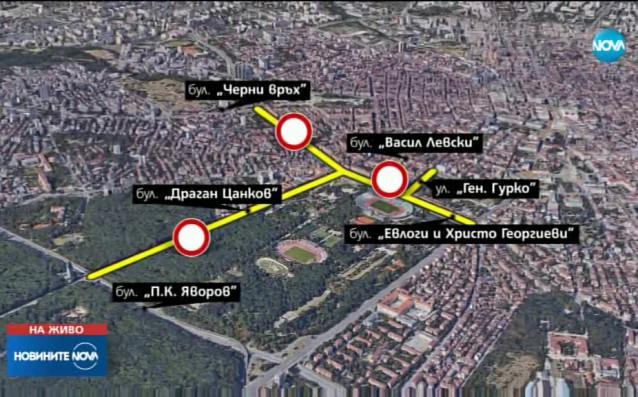 Извънредни мерки за сигурност преди вечното дерби Левски - ЦСКА.