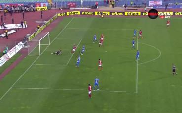 ЦСКА пак изравни, но твърде късно