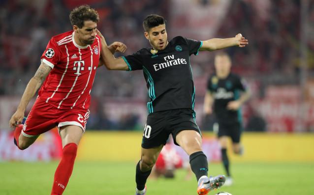 Еврошампионът Реал Мадрид взе важен аванс срещу другия гигант в