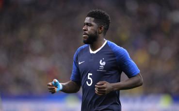 Умтити под въпрос за мача на Франция срещу Дания