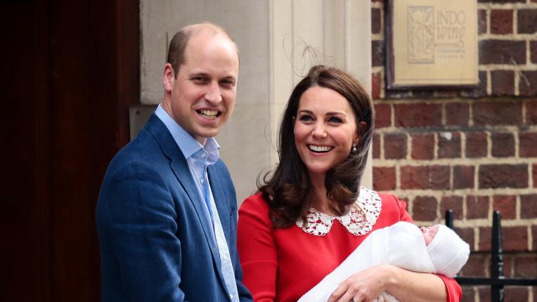 Как се произнася името на новородения син на Уилям и Кейт (+ снимка как ще изглежда принцът, когато порасне)