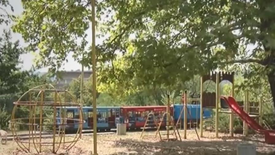 Инцидент с детско влакче в Кърджали