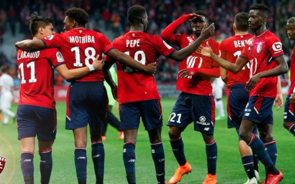 Лил затвърди второто място в Лига 1