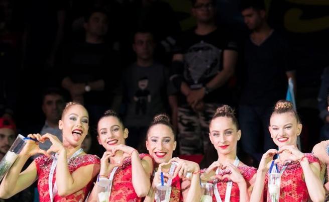 Грациите ни спечелиха два златни медала в Баку