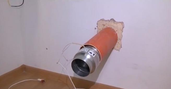 Обикновена тръба с вентилатор - това изобретение може да сложи