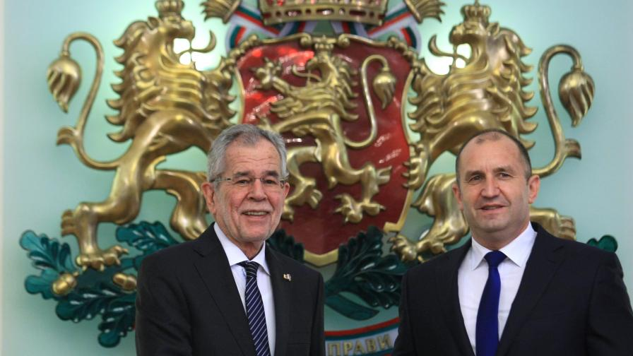 Румен Радев: Австрия е водещ инвеститор в България