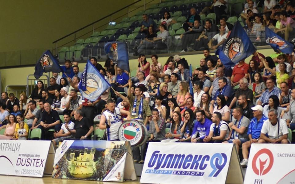 Академик Бултекс 99 прави спортен празник преди полуфинала с Балкан