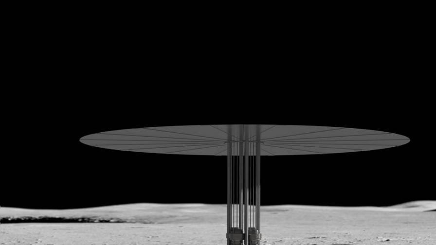 НАСА успешно тества космически ядрен реактор