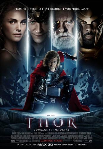 """9. Thor / """"Тор: Богът на гръмотевиците"""" (2011) – Филмът, който направи Крис Хемсуърт суперзвезда, е идеално показно за младия актьор и главния му герой – той е показан в ситуации, граничещи от Шекспирова семейна драма, характерна за режисьора Кенет Брана, до типични Marvel-ски хумористични скечове. Огромен плюс за лентата е страхотния антагонист Локи, изигран от Том Хидълстън."""