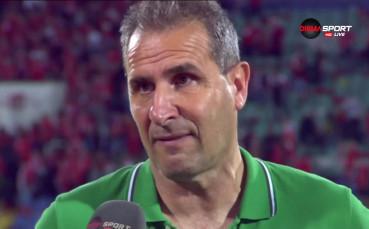 Димитър Димитров: Оставам в Лудогорец!