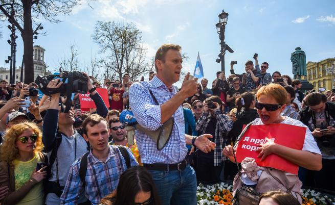 Пуснаха Навални от ареста, той: Изглежда е била дадена заповед