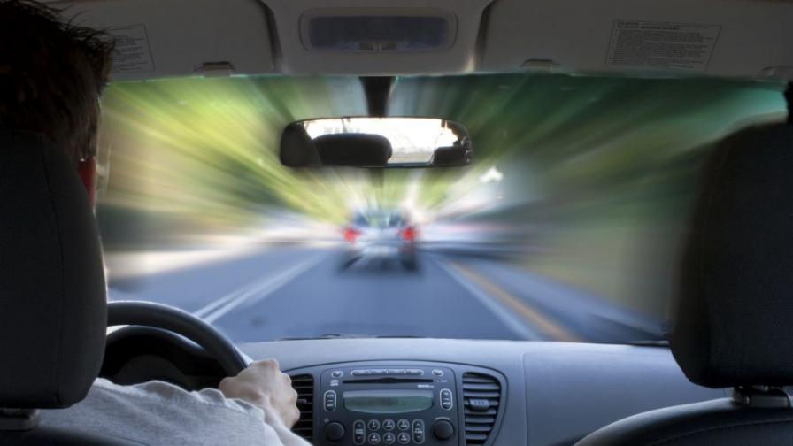 """""""Неволното"""" превишаване на скоростта е най-големият риск на пътя"""