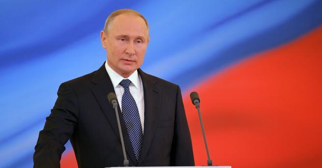 Владимир Путин встъпи днес официално в длъжност като президент на