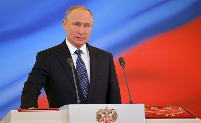 Путин с нов кабинет
