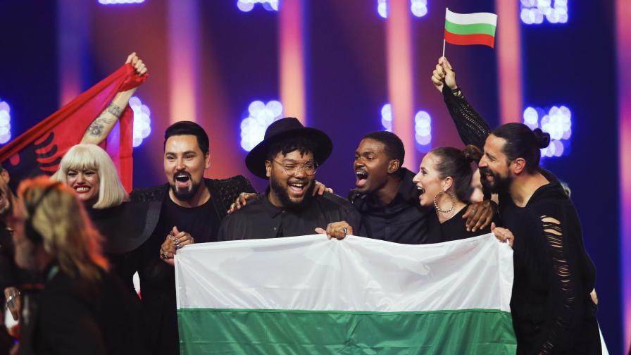 """България е на финал в конкурса """"Евровизия"""""""