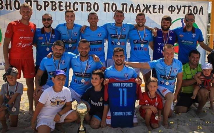 МФК Спартак срещу европейския първенец в Шампионската лига по плажен футбол