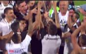 Славия вдигна 8-ата си Купа на България!