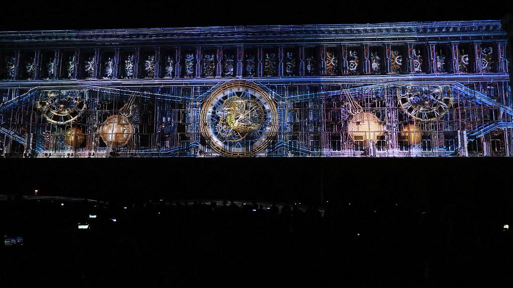 С 3D mapping на фасадата на МС , столичани отбелязаха Деня на Европа