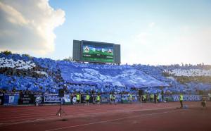 Синьото море на стадион Васил Левски
