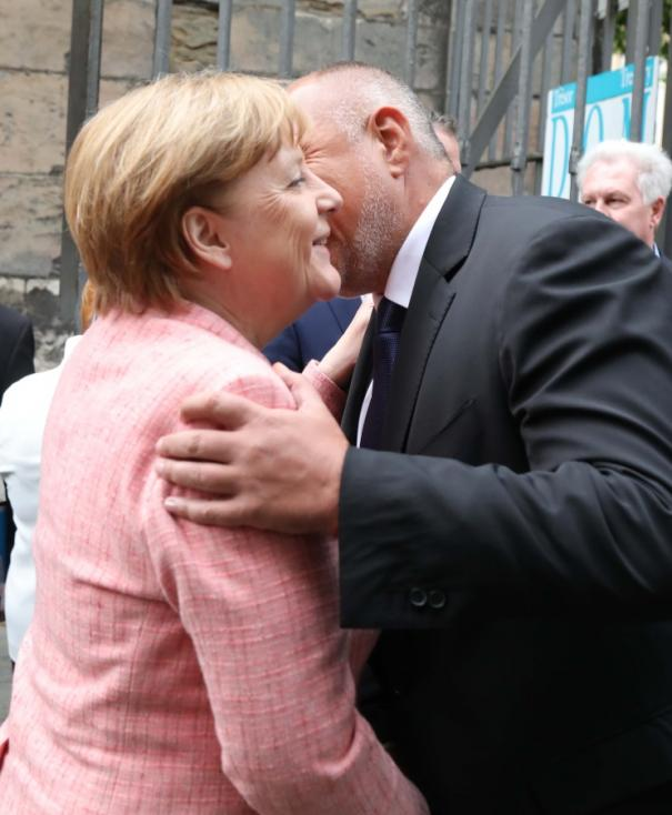 - Премиерът Бойко Борисов е в Аахен, Германия