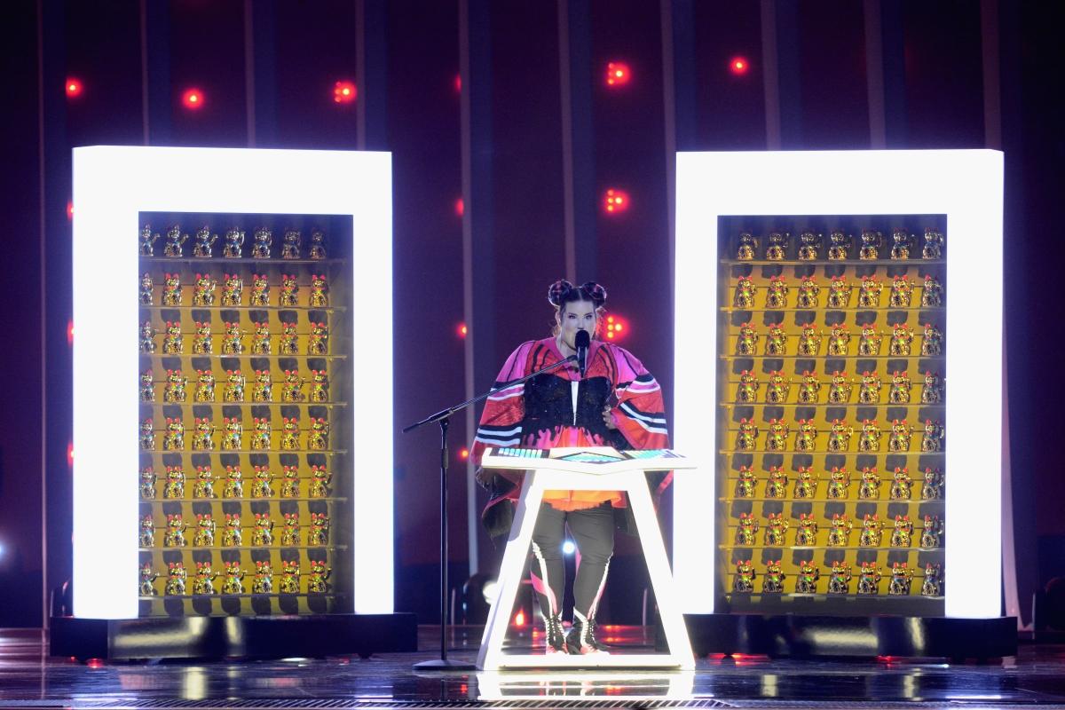 """Победителката на """"Евровизия"""" 2018, Нета Барзилай от Израел"""