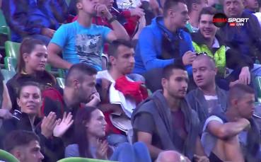 Капитанът на Лудогорец гледа бившия си отбор срещу Етър