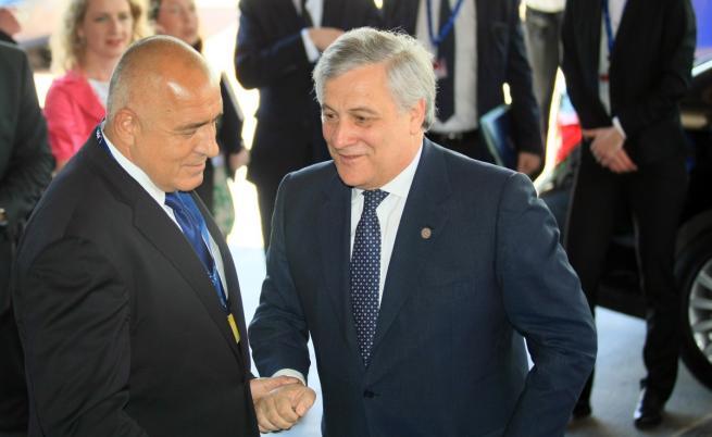 Бойко Борисов и Антонио Таяни