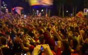 Феновете на Атлетико отпразнуваха подобаващо големия успех