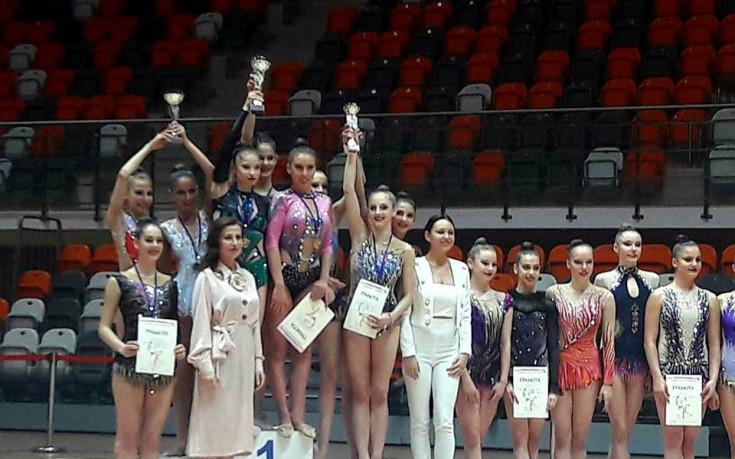 Левски Илиана с отборната титла в художествената гимнастика