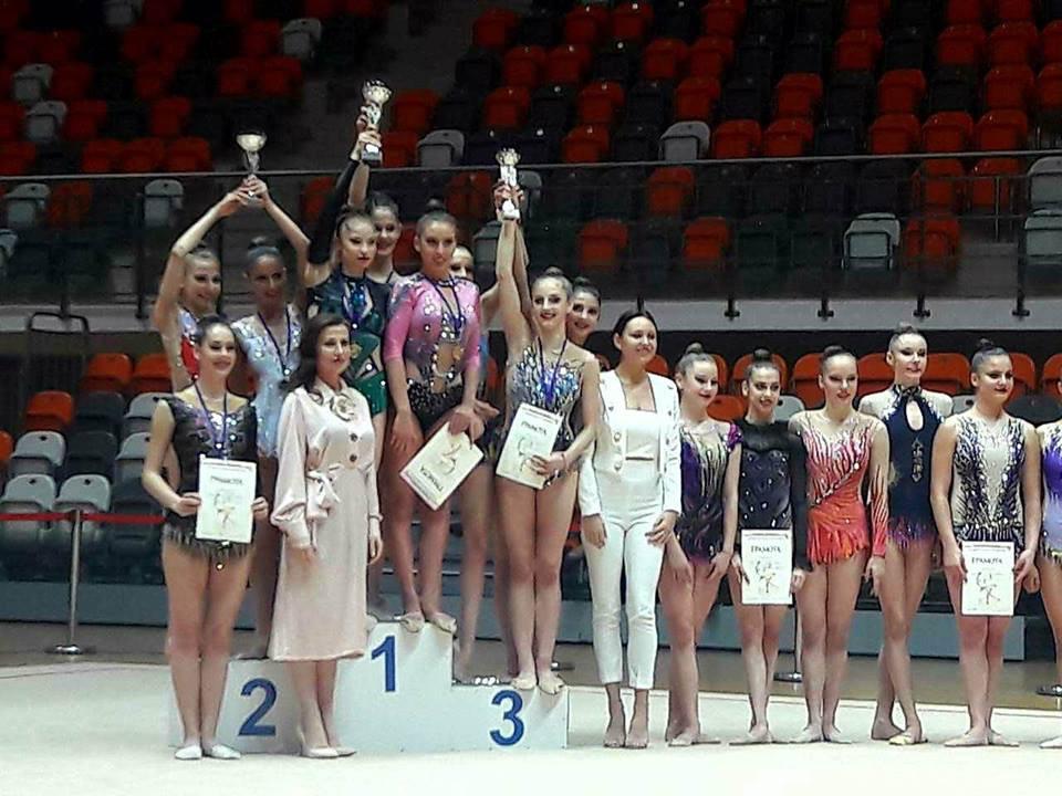 Художествена гимнастика<strong> източник: facebook.com/rglevski/</strong>