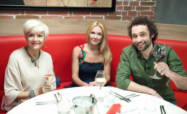 """Ани Халваджиян и актьорите Мария Игнатова и Кристиян Милатинов на гости в """"Адската кухня"""""""