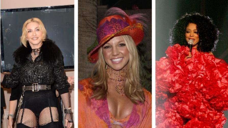 """Най-щурите дрехи на звездите от наградите """"Билборд"""""""