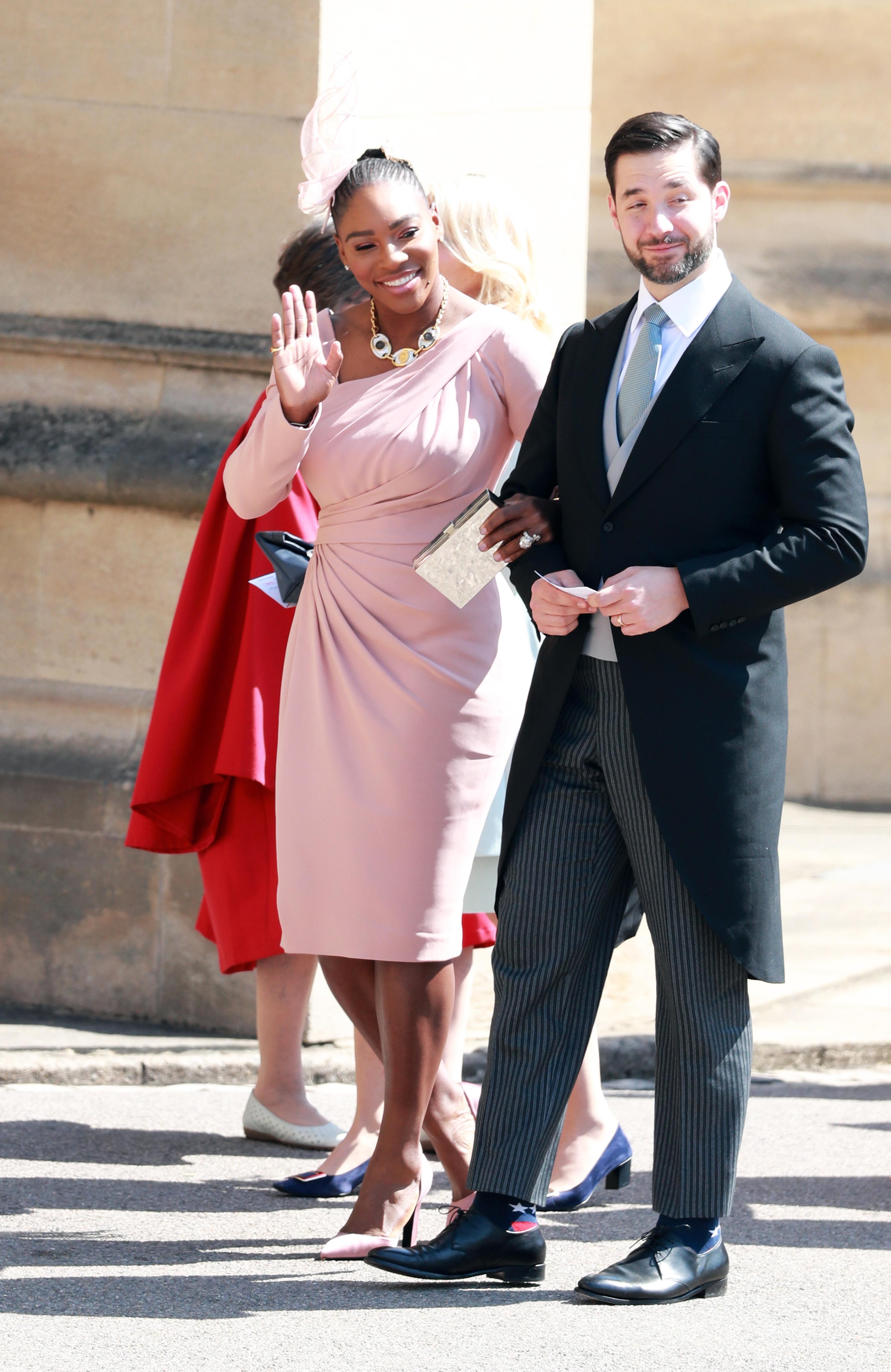 Серина Уилямс и съпругът ѝ