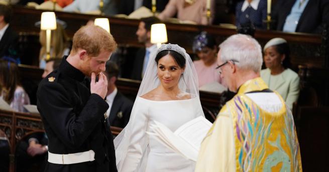 Британският принц Харии американската актрисаМеган Маркълсе врекоха във вярност в