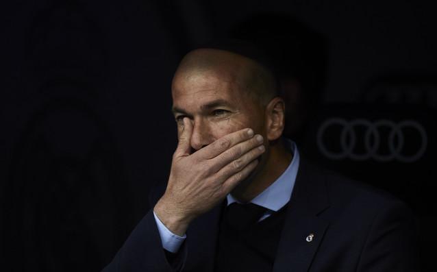 Наставникът на Реал Мадрид Зинедин Зидан използва леко нецензурен израз,