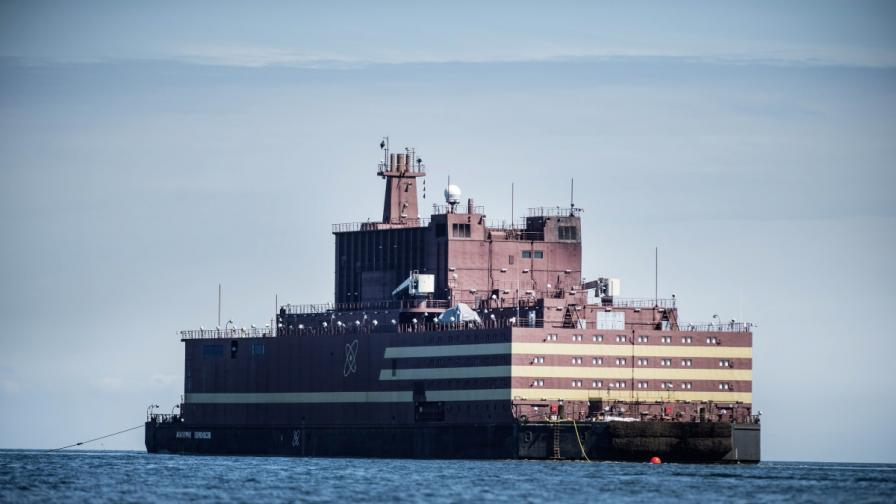"Плаващата атомна централа ""Ломоносов"""