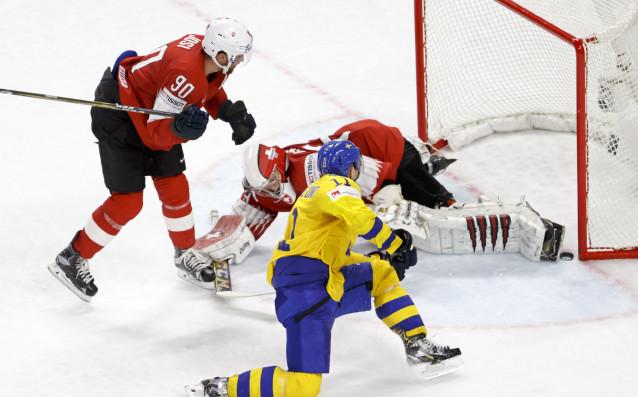 Отборът на Швеция надделя с 3:2 над Швейцария във финала
