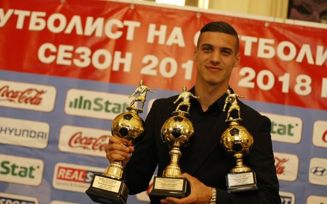 Кирил Десподов безспорно е един от лидерите на ЦСКА през