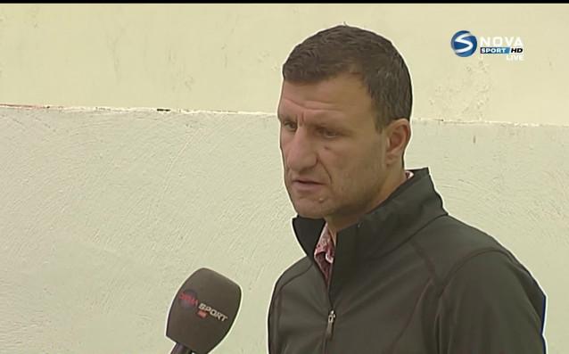 Старши треньорът на Витоша Бистрица Костадин Ангелов заяви след победата