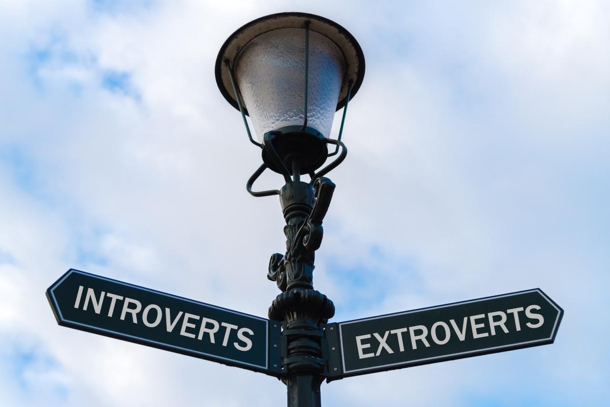 От родителите си наследяваме дали сме интроверти или екстроверти.
