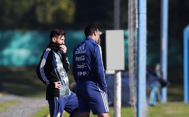 Голямата звезда на аржентинския футбол Лео Меси пристигна в Буенос