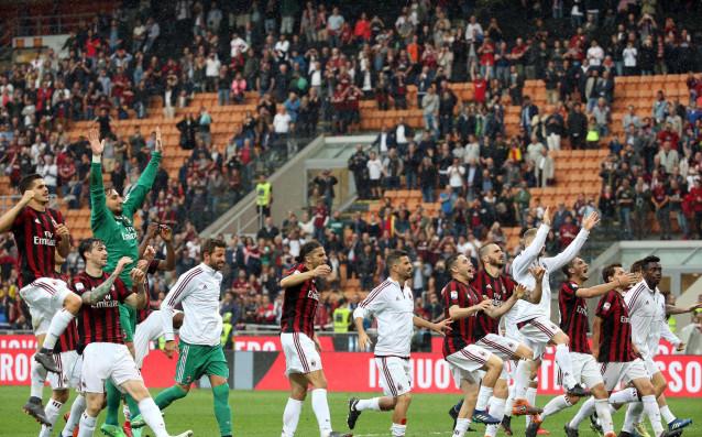 Отборът на Милан може да остане извън евротурнирите, въпреки че