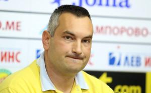 Президентът на Балкан преди втория мач с Левски: Съдиите свириха 50:50