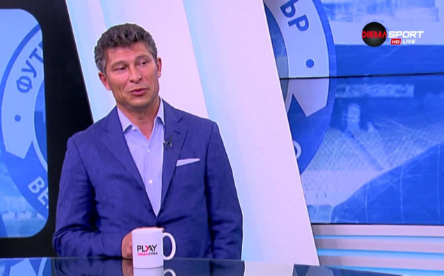 Наставникът на Етър Красимир Балъков коментира представянето на клуба през