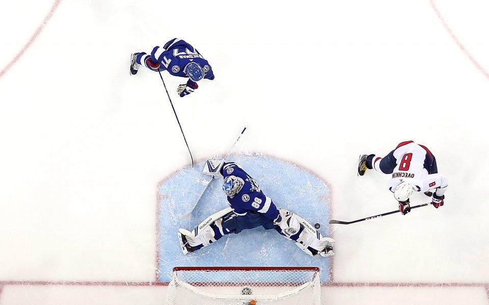 Гол на Овечкин във вратата на Финикс е признат за най-красив в историята на НХЛ